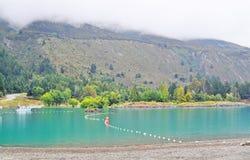 Lago na montanha Foto de Stock Royalty Free