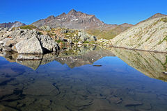 Lago na parte superior Foto de Stock