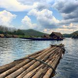 Lago na selva Fotografia de Stock Royalty Free