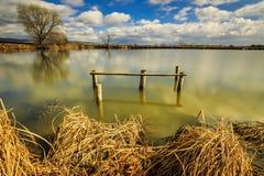 Lago na Transilvânia, Roménia Foto de Stock Royalty Free