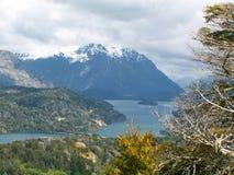Lago Nahuel Huapi fotografie stock