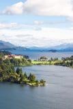 Lago Nahuel Huapi Immagine Stock Libera da Diritti