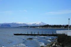 Lago Nahuel Huapi immagini stock
