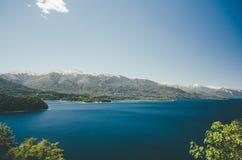Lago Nahuel Huapi Fotografia Stock