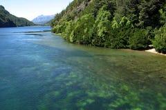 Lago Nahuel Huapi Immagine Stock