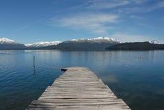 Lago Nahuel Huapi Imagem de Stock Royalty Free