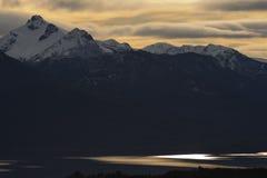 Lago Nahuel Huapi, Argentina fotografie stock