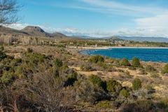 Lago Nahuel Huapi in Rio Negro Province, Argentina Royalty Free Stock Photo