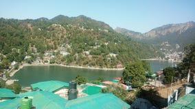 Lago Nainital fotografía de archivo
