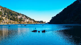 Lago Nainital Fotos de Stock Royalty Free