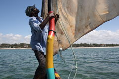 Lago Naivasha kenya Immagini Stock Libere da Diritti