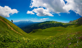 Lago-Naki, il plateau ad ovest del Caucaso fotografie stock