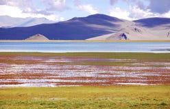 Lago Nam en Tíbet de China imágenes de archivo libres de regalías