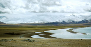 Lago Namptso Fotos de archivo