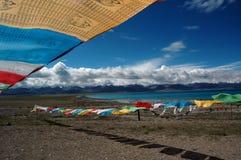 Lago Namtso foto de stock