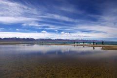Lago Namtso Imagem de Stock