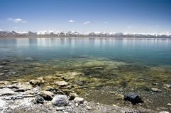Lago Namtso Immagini Stock