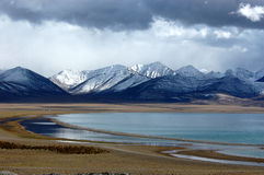 Lago Namtso Fotografia Stock