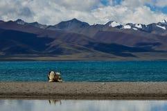Lago Namu immagini stock