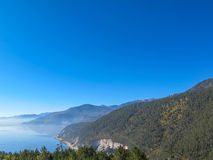 Lago Napa en Shangrila, Yunnan, China Imagenes de archivo