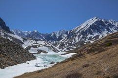 Lago nas montanhas Foto de Stock