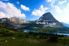 Lago nascosto Glacier National Park Fotografie Stock