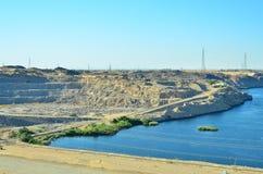 Lago Nasser foto de stock royalty free