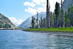 Lago natural do mahodand Fotografia de Stock