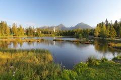 Lago nature Immagine Stock Libera da Diritti