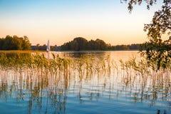 Lago nature Fotografia Stock Libera da Diritti