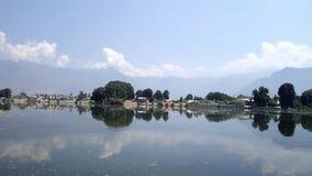 Lago Negin nel Kashmir immagine stock