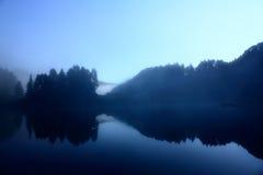 Lago nei Pyrenees Fotografie Stock