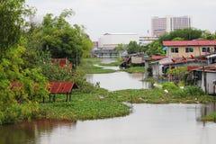 Lago nei sobborghi di Bangkok, Tailandia. Immagini Stock Libere da Diritti