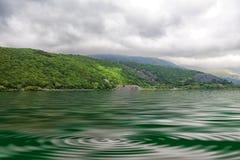 Lago nel cittadino del parco di Snowdonia Immagine Stock