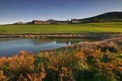 Lago nel Galles Fotografia Stock Libera da Diritti
