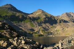 Lago nel mountains-02 Immagini Stock Libere da Diritti