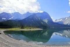 Lago nel paese di Kananaskis - Alberta - Canada Fotografie Stock