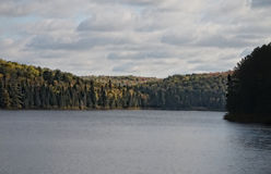 Lago nel parco del Algonquin Fotografie Stock