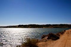 Lago nel Portogallo Fotografia Stock