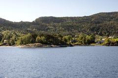 Lago nel sud della Norvegia Fotografie Stock