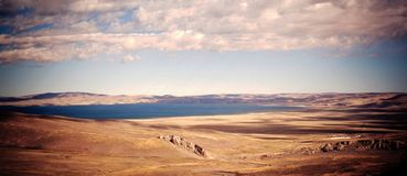 Lago nel Tibet immagine stock libera da diritti