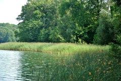 Lago nell'immagine infrarossa di Poland Fotografia Stock