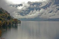 Lago nella caduta Immagine Stock