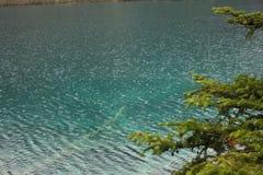 Lago nella montagna Fotografia Stock Libera da Diritti