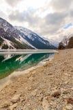 Lago nella montagna delle alpi, Tirolo, Austria Plansee Fotografia Stock