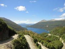 Lago nella Terra del Fuoco argentina Fotografie Stock