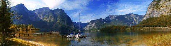 Lago nelle alpi, Austria Fotografia Stock