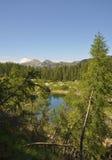 Lago nelle alpi di Julian Immagini Stock Libere da Diritti