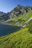 Lago nelle montagne Immagine Stock Libera da Diritti