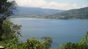 Lago nelle montagne, isola Bali, Indonesia Fotografie Stock Libere da Diritti